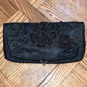 Vintage Hand Made Black Bag